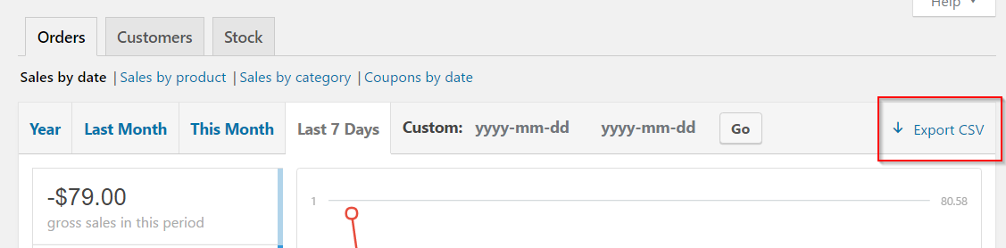 Exporting CSV