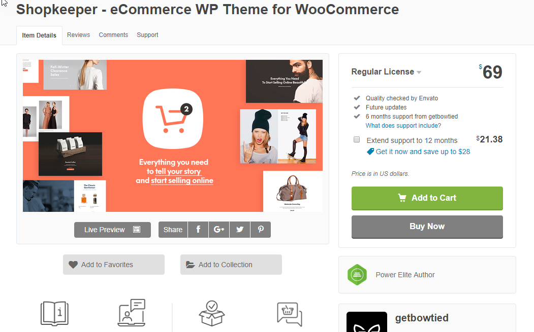 Shopkeeper is a cost effective and time saving option for your WooCommerce store