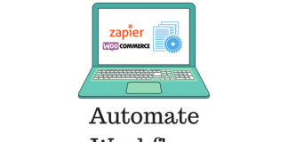 Header image for WooCommerce Zapier