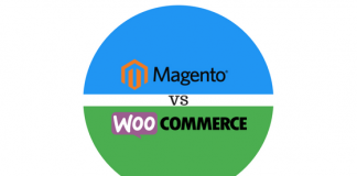 Header image for Magento vs WooCommerce