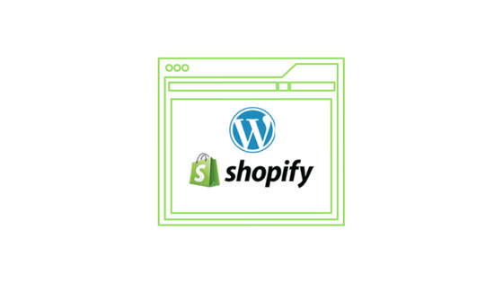 Header image for Shopify WordPress