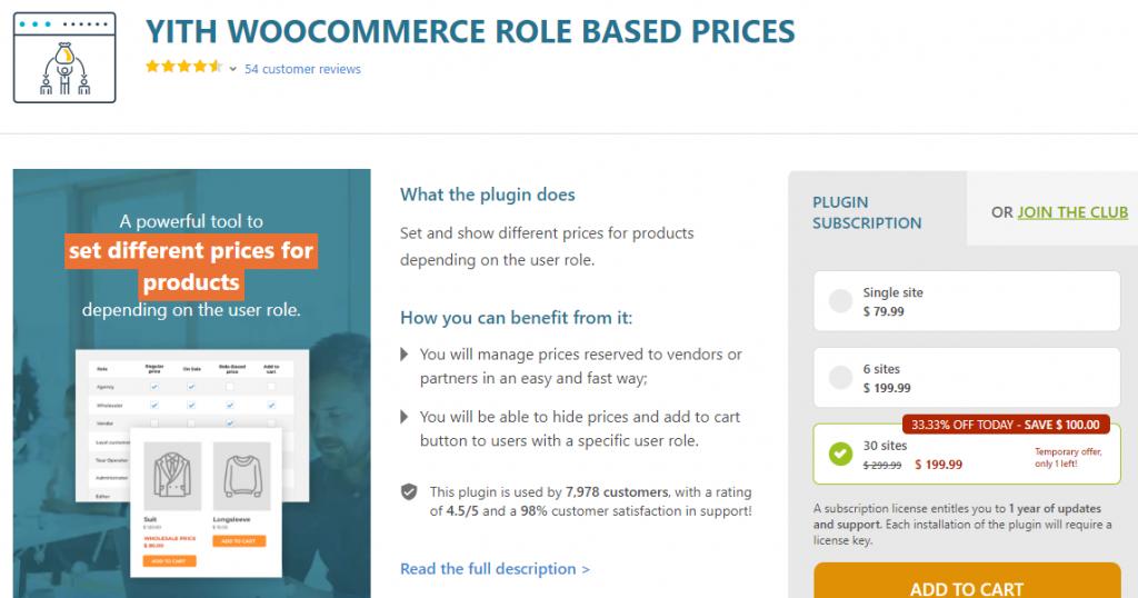 WooComerce user roles