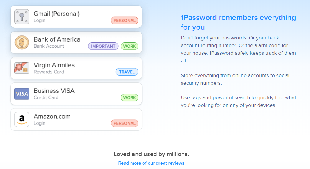 Image depicting 1Password, a WordPress security tool that helps you manage passwords.
