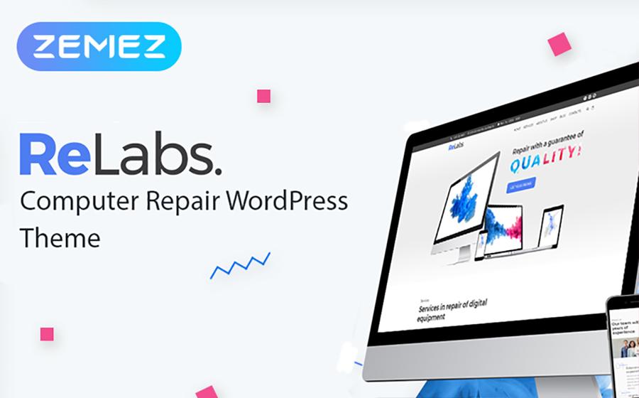 ReLabs - Computer Repair WordPress Theme