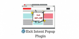 WordPress Exit Intent Popup plugin