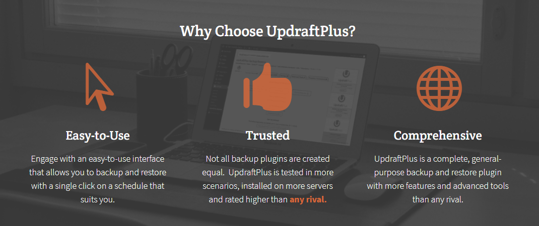 image depicting Updraftplus premium version