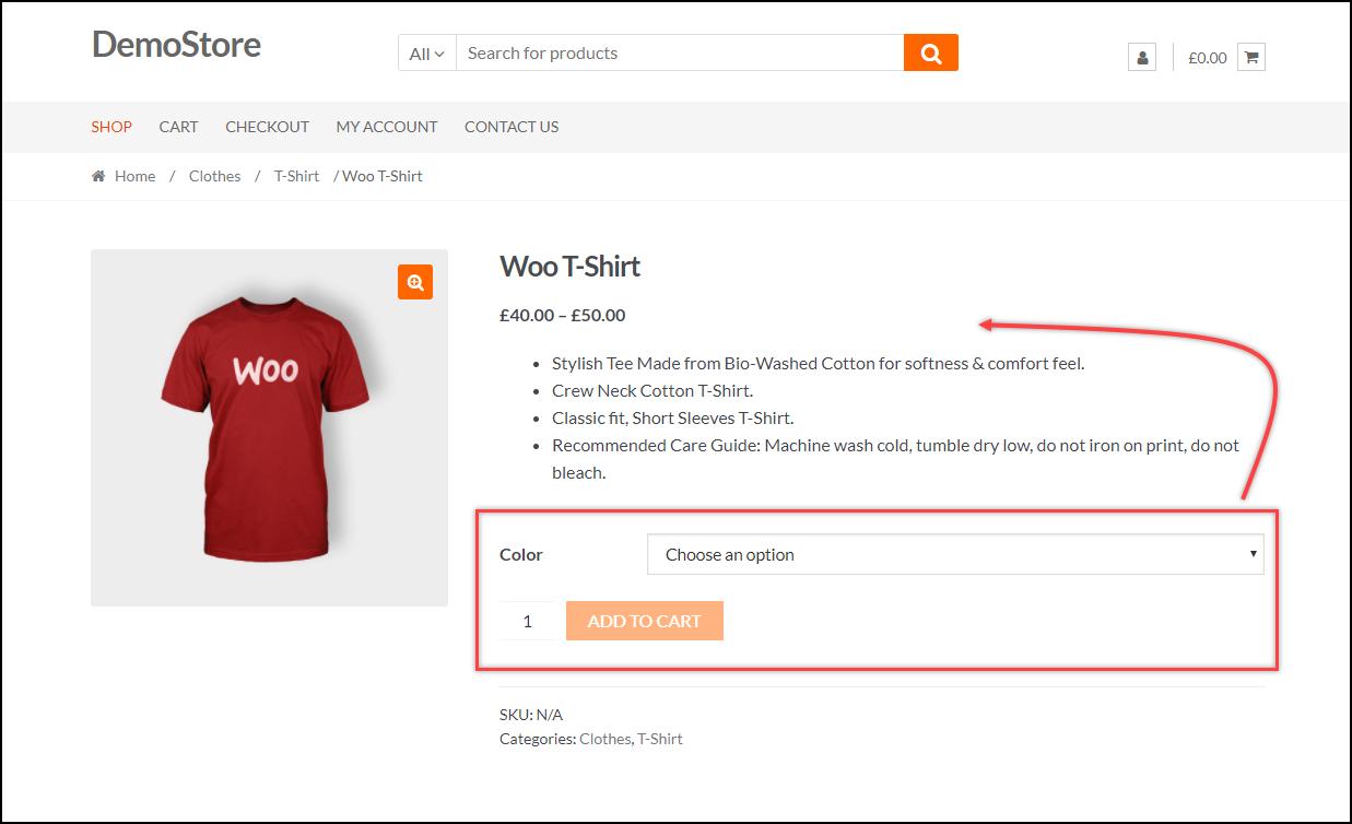Move Add to Cart above Product Short Description | Default setup