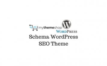 Header image of Schema WordPress SEO Theme