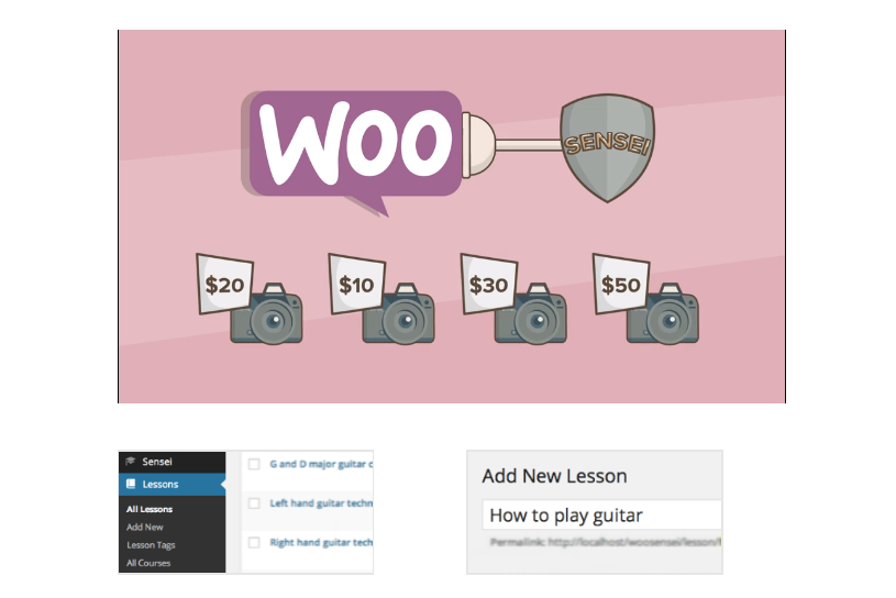 Image of Sensei eLearning plugin