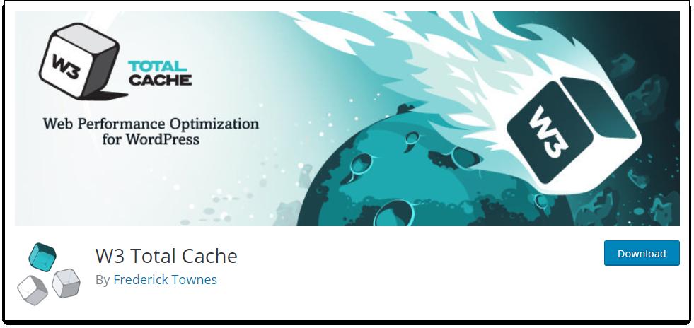 WordPress Cache | W3 Total Cache plugin