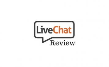 Header image for LiveChat Review