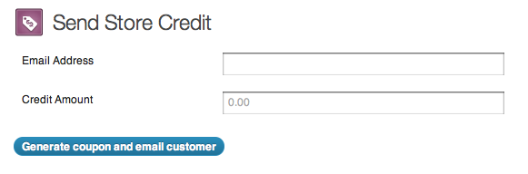 screenshot of store credit plugin for return and refunds article