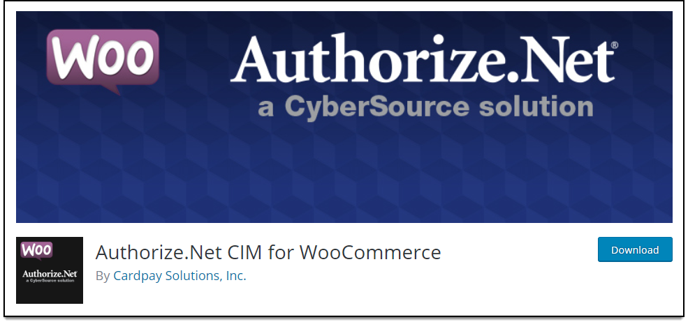 Top Free WooCommerce Authorize.Net Plugins | Authorize.Net CIM for WooCommerce