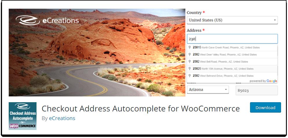 Top WooCommerce Address Validation & Autocomplete Plugins | Checkout Address Autocomplete for WooCommerce