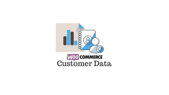 Header image for WooCommerce Customer Data