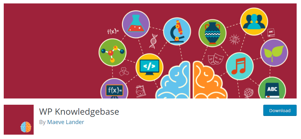 screenshot of WP Knowledgebase for WordPress Knowledge Base Plugins
