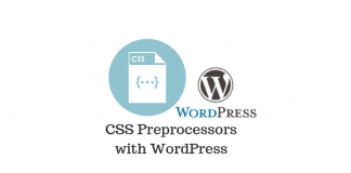 Header image for CSS Preprocessors with WordPress