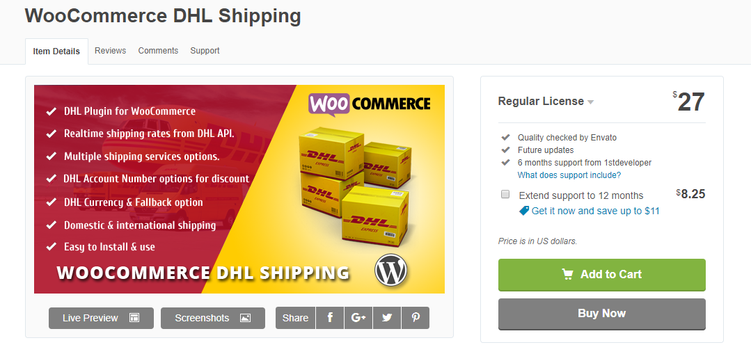 5 Best Woocommerce Dhl Express Premium Plugins For Real Time Rates