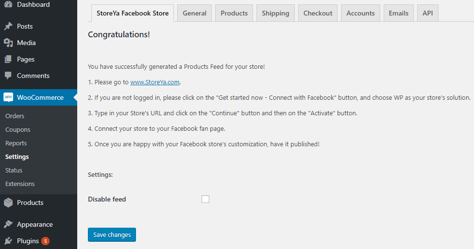 How to Integrate WooCommerce Store to Facebook - LearnWoo