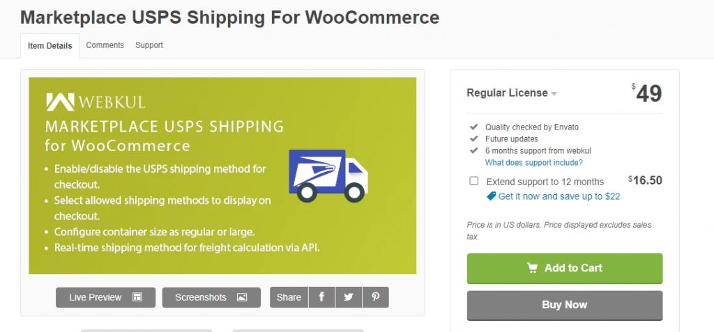 WooCommerce USPS Plugins