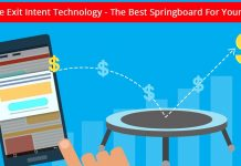 Header image for mobile exit intent technology article