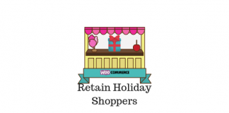 Header image of Retain WooCommerce store holiday shoppers article