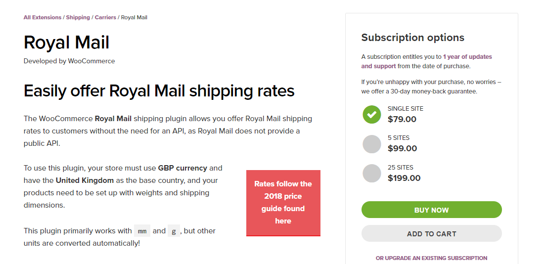 Top WooCommerce Royal Mail Shipping Plugins for Rates