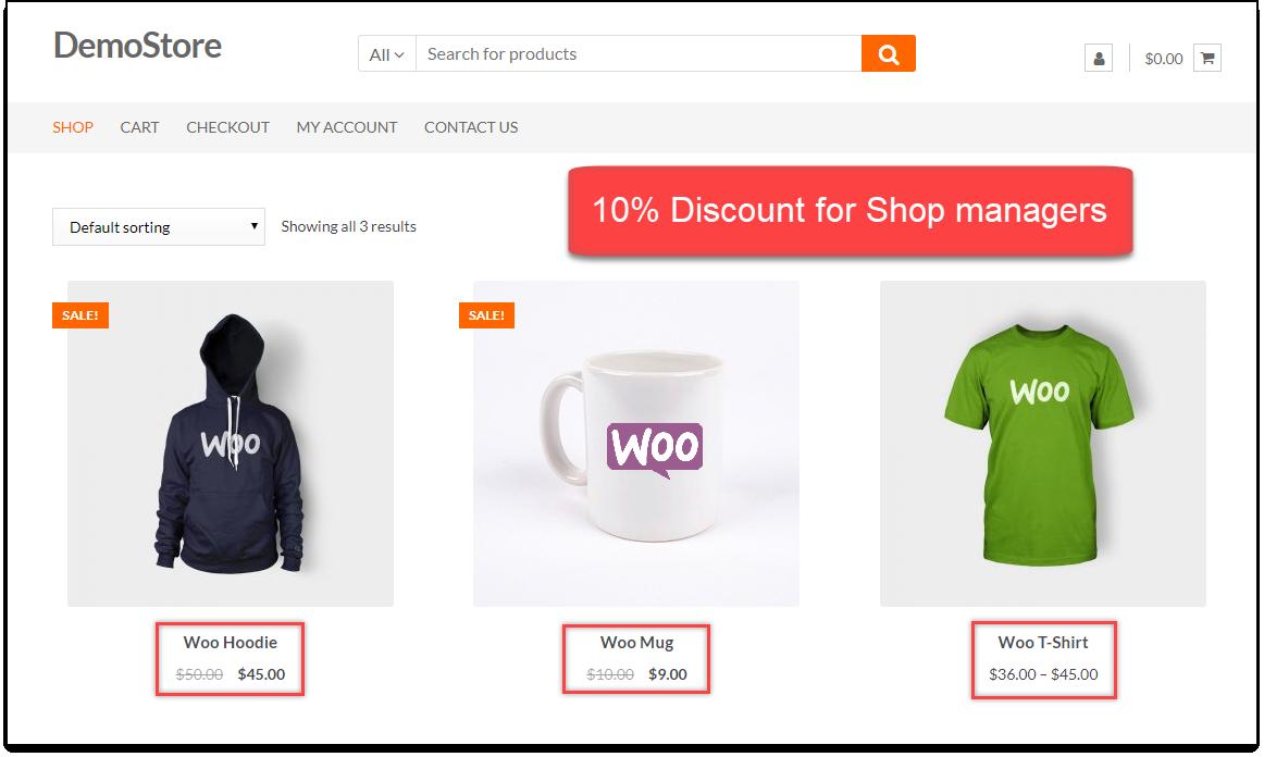 Free WooCommerce Discounts Plugins