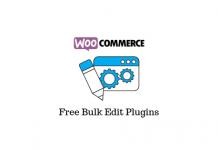 Free WooCommerce Bulk Edit Plugins