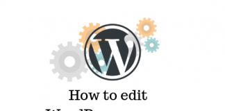 WordPress source code files