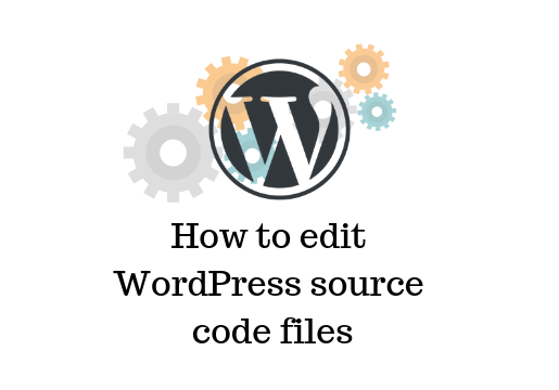 WordPress source code files