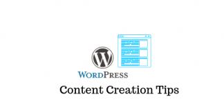 WordPress Content Creation