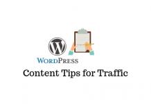 WordPress Content Tips