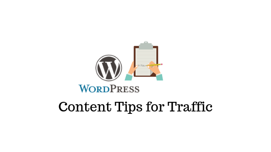 WordPress Content Tips