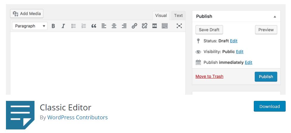 WordPress Content Editing