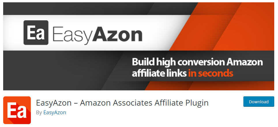 EasyAzon Amazon Affiliates plugin