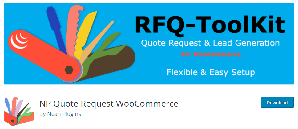 free WooCommerce request a quote plugins.