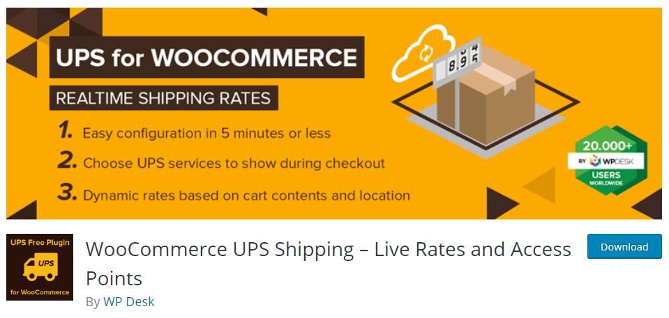 WooCommerce UPS WP Desk