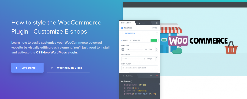 Customize your WooCommerce Store