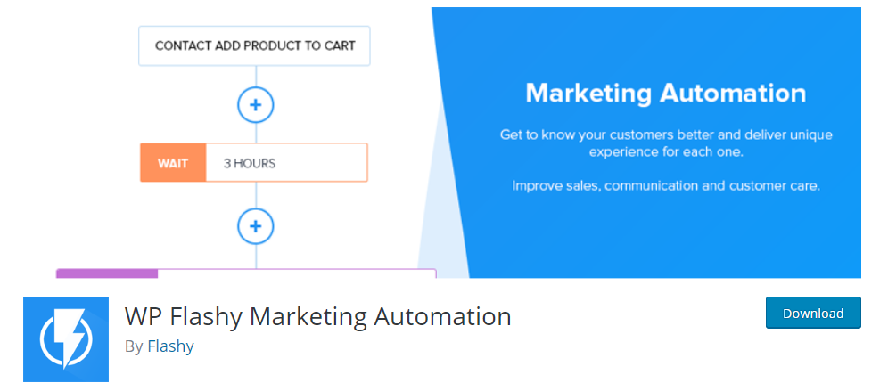 Flashy Marketing Automation