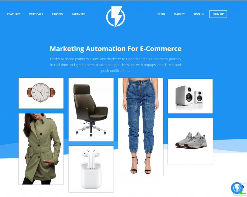 Flashy marketing automation