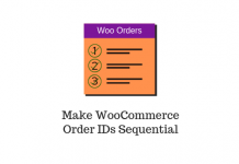 Make WooCommerce Order IDs Sequential
