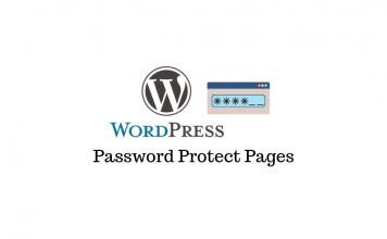 Password Protect WordPress content