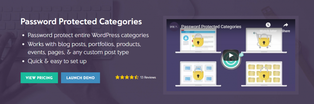 Password Protect WordPress content