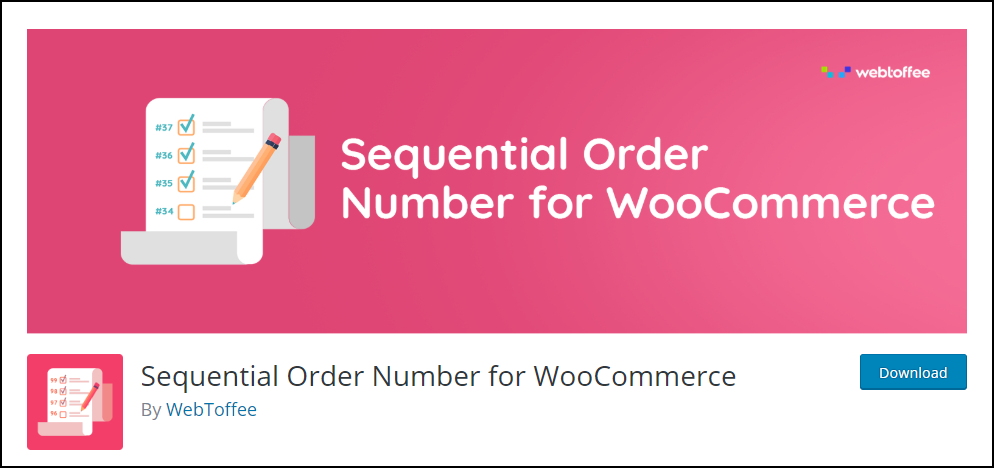 WooCommerce Order IDs Sequential | Sequential Order Number for WooCommerce
