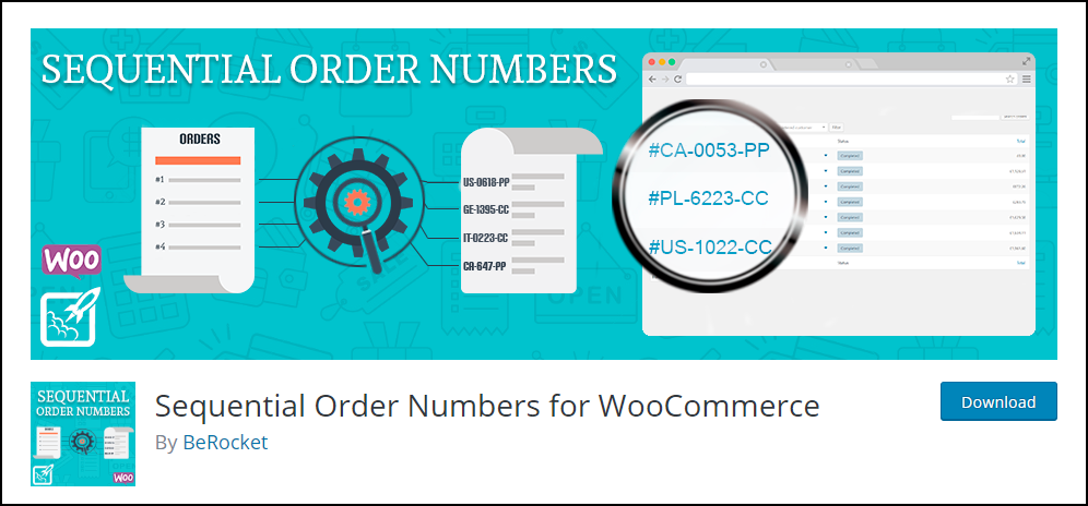 WooCommerce Order IDs Sequential | Sequential Order Numbers for WooCommerce