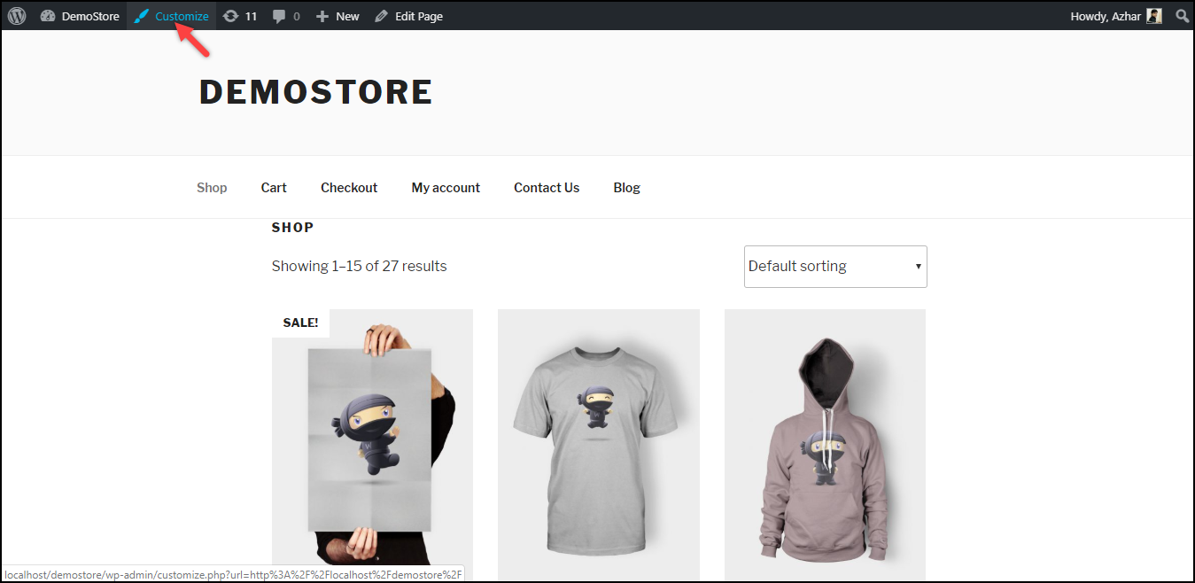 Change Number of WooCommerce Products Per Page | Customize Theme