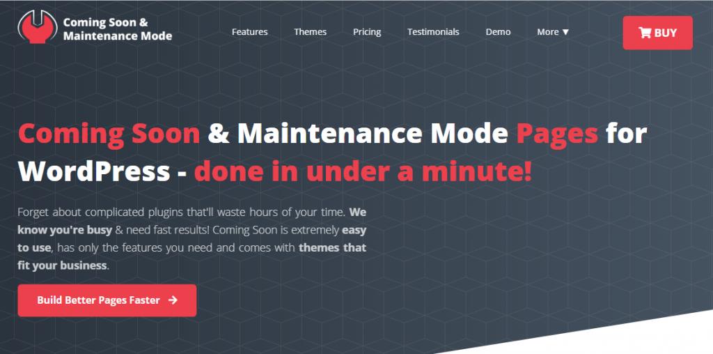WordPress Under Construction Plugins