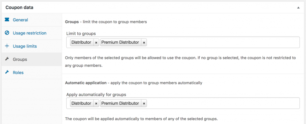 WooCommerce coupon code management plugins