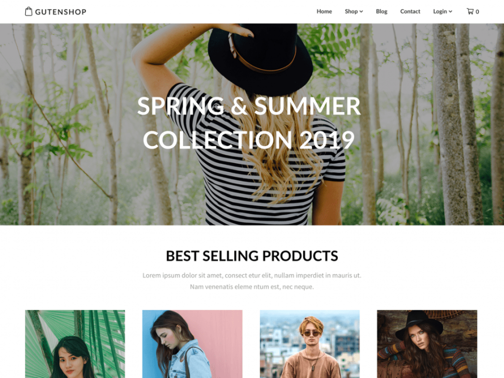 WordPress themes for digital products